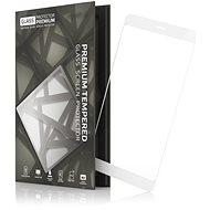 Tempered Glass Protector rámčekové pre Huawei P Smart Biele