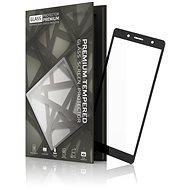 Tempered Glass Protector Rámčekové pre Sony Xperia XZ2 Compact Čierne - Ochranné sklo