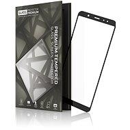 Tempered Glass Protector Rámčekové pre Samsung Galaxy A6 Čierne