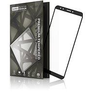 Tempered Glass Protector Rámčekové pre Huawei Y7 Prime (2018) Čierne