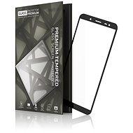 Tempered Glass Protector Rámčekové na SAMSUNG J6 2018 Čierne - Ochranné sklo