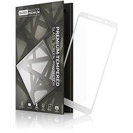 Tempered Glass Protector Rámčekové pre Honor 7S Biele - Ochranné sklo