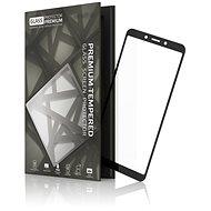 Tempered Glass Protector Rámčekové pre Xiaomi Redmi 6/6A Čierne - Ochranné sklo