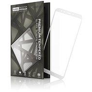 Tempered Glass Protector Rámčekové pre Xiaomi Mi A2 Biele - Ochranné sklo