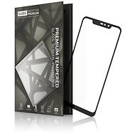 Tempered Glass Protector Rámčekové na Xiaomi Redmi Note 6 Pro, Čierne - Ochranné sklo