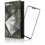 Tempered Glass Protector Rámčekové na Honor 8X / 9X Lite, Čierne - Ochranné sklo