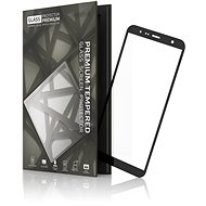 Tempered Glass Protector pre Samsung Galaxy J4+/J6+ Čierne - Ochranné sklo