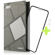 Ochranné sklo Tempered Glass Protector Rámčekové pre iPhone Xr /11, Čierne + sklo na kameru