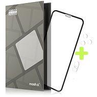 Ochranné sklo Tempered Glass Protector Rámčekové pre iPhone Xs Max/11 Pro Max, Čierne + sklo na kameru