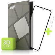 Ochranné sklo Tempered Glass Protector pre iPhone 11 Pro Max – 3D Case Friendly, Čierne + sklo na kameru