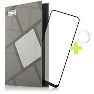 Tempered Glass Protector Rámčekové pre Nokia 3.4, čierne + sklo na kameru