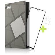 Tempered Glass Protector rámčekové pre Vivo V21 5G, čierne + sklo na kameru