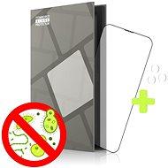 Tempered Glass Protector antibakteriálne pre iPhone 13 Pro Max, čierne + sklo na kameru (Case Friendly) - Ochranné sklo