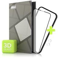 Tempered Glass Protector pre iPhone 13 mini, 3D Glass + sklo na kameru (Case Friendly)