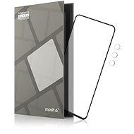 Tempered Glass Protector rámčekové pre Motorola Moto G60s/G60, čierne + sklo na kameru - Ochranné sklo