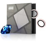 Tempered Glass Protector zafírové pre kameru iPhone 13 mini/iPhone 13, 0,3-karátové, ružové