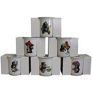 THUN Hrnček v škatuľke KRTKO 160 ml, mix dekórov - Hrnček