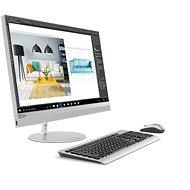 Lenovo IdeaCentre 520-24IKU Silver - All In One PC