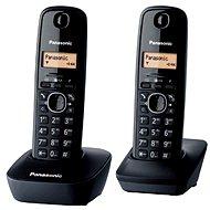 Panasonic KX-TG1612FXH DECT SMS Duo - Telefón na pevnú linku