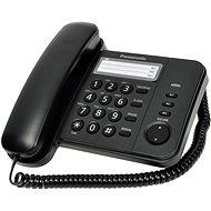 Panasonic KX-TS520FXB Black - Telefón na pevnú linku