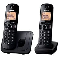 Panasonic KX-TGC212FXB Twinpack Black - Telefón na pevnú linku