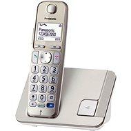 Panasonic KX-TGE210FXN Gold/White - Telefón na pevnú linku
