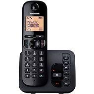 Panasonic KX-TGC220FXB se záznamníkem Black - Domáci telefón