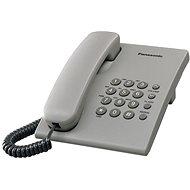 Panasonic KX-TS500FXH Grey - Telefón na pevnú linku