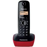 Panasonic KX-TG1611FXR Red - Telefón na pevnú linku