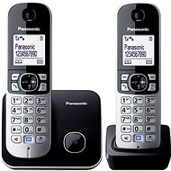 Panasonic KX-TG6812FXB Black - Domáci telefón
