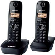 Panasonic KX-TGB212FXB Twinpack Black - Telefón na pevnú linku