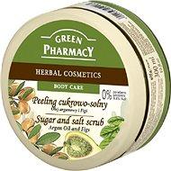 GREEN PHARMACY Cukrový peeling so soľou Arganový olej a Figy 300 ml