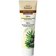 GREEN PHARMACY Krém na ruky a nechty Olivy vyživuje a chráni 100 ml - Krém na ruky