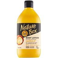 NATURE BOX Body Lotion Macadamia Oil 385 ml - Telové mlieko