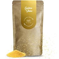MARK face and body Kávový peeling s trblietkami MARK Golden Shine 150 g - Peeling