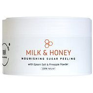 MARK face and body Prírodný vyživujúci cukrový peeling MARK Sugar Scrub Milk & Honey 200 ml - Peeling