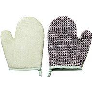 TITANIA Natural Body Care Kúpeľová a masážna rukavica s manžetou - Masážna rukavica