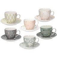 Tognana Sada šálok na čaj s tanierikmi 6 ks 200 ml IRIS ALICIA