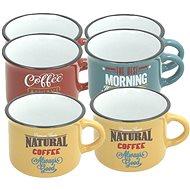 Tognana Sada hrnčekov na kávu 100 ml DES ARTS VINTAGE 6 ks - Kávové šálky