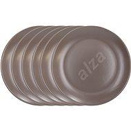 Tognana Súprava tanierov plytkých 26 cm FABRIC TORTORA 6 ks - Sada tanierov