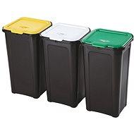 Tontarelli 3× 44 l, na triedený odpad - Odpadkový kôš