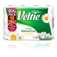 VELTIE Natural Care Camomille (12 ks) - Toaletný papier