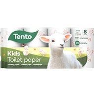 TENTO Kids Panda (8 ks) - Toaletný papier