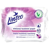 LINTEO Vlhčený toaletný papirr (60 ks) - Toaletný papier