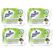 LINTEO Vlhčený toaletný papier s dubovou kôrou  (4× 60 ks) - Toaletný papier