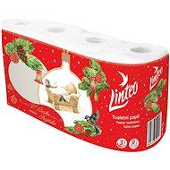 LINTEO Christmas, 3 layers (8 pcs) - Toilet Paper
