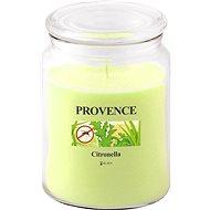 Provence Sviečka v skle s viečkom 510 g, citronela - Sviečka