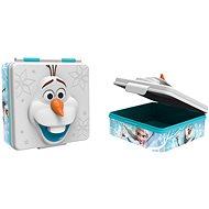 Toro Desiatový box plastový 3D Frozen, 600 ml - Desiatový box