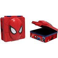 Toro Desiatový box plastový 3D Spiderman, 600 ml - Desiatový box