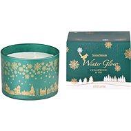 Svíčka ve skle 110x80 mm 3 knoty vonná, v dárkové krabičce Cedarwood & Fir - Vianočná sviečka